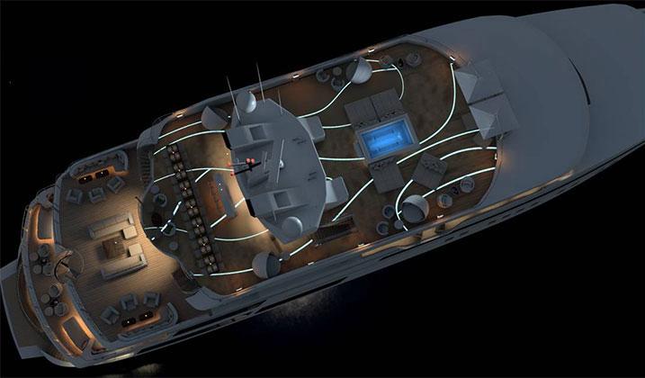 In-deck lighting & Ocean Group: Indeck Lighting
